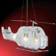 Childrens Helicopter Pendant Fitting - SEARCHLIGHT 639